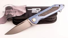 Складной нож Bestech SHINKANZEN BT1803C, сталь CPM-S35VN, рукоять титан