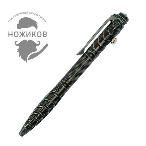 Складной нож Alien Green с тактической ручкой, Limited Edition. Вид 9