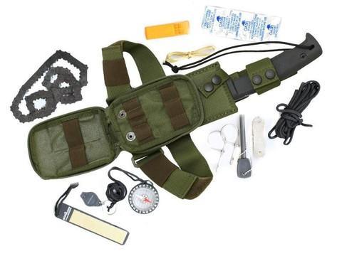 Набор выживания Selvans Survival Kit, Green. Вид 1