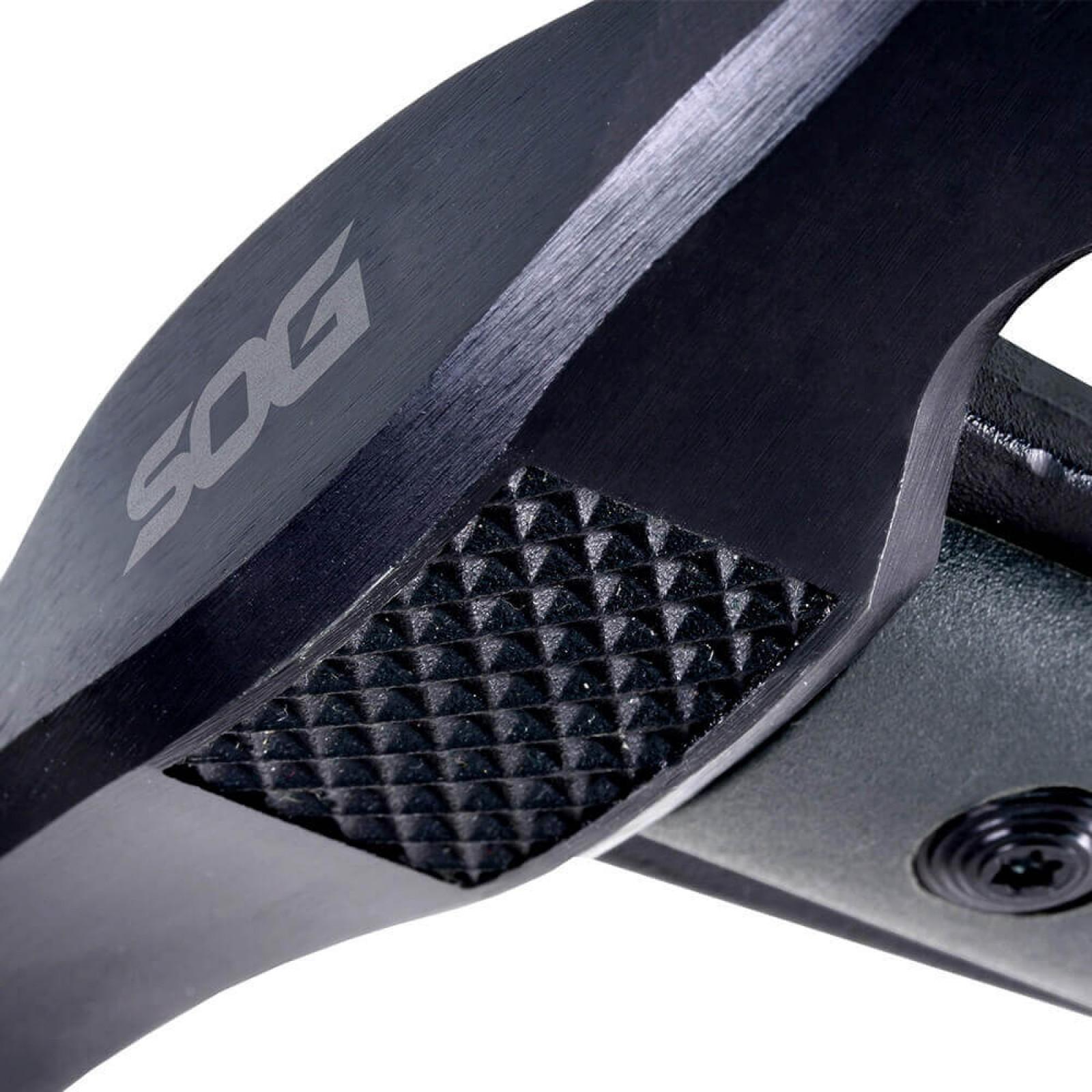 Фото 6 - Топор - тактический томагавк TACTICAL TOMAHAWK BLACK- SOG F01T, сталь 420 Black Finish, рукоять термопластик GRN, чёрный