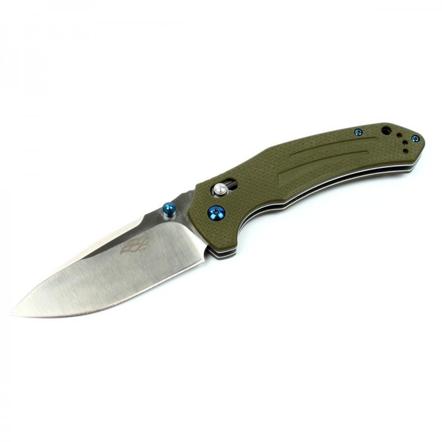 Нож Firebird (by Ganzo) F7611-GR зеленый нож firebird by ganzo f7491 черный
