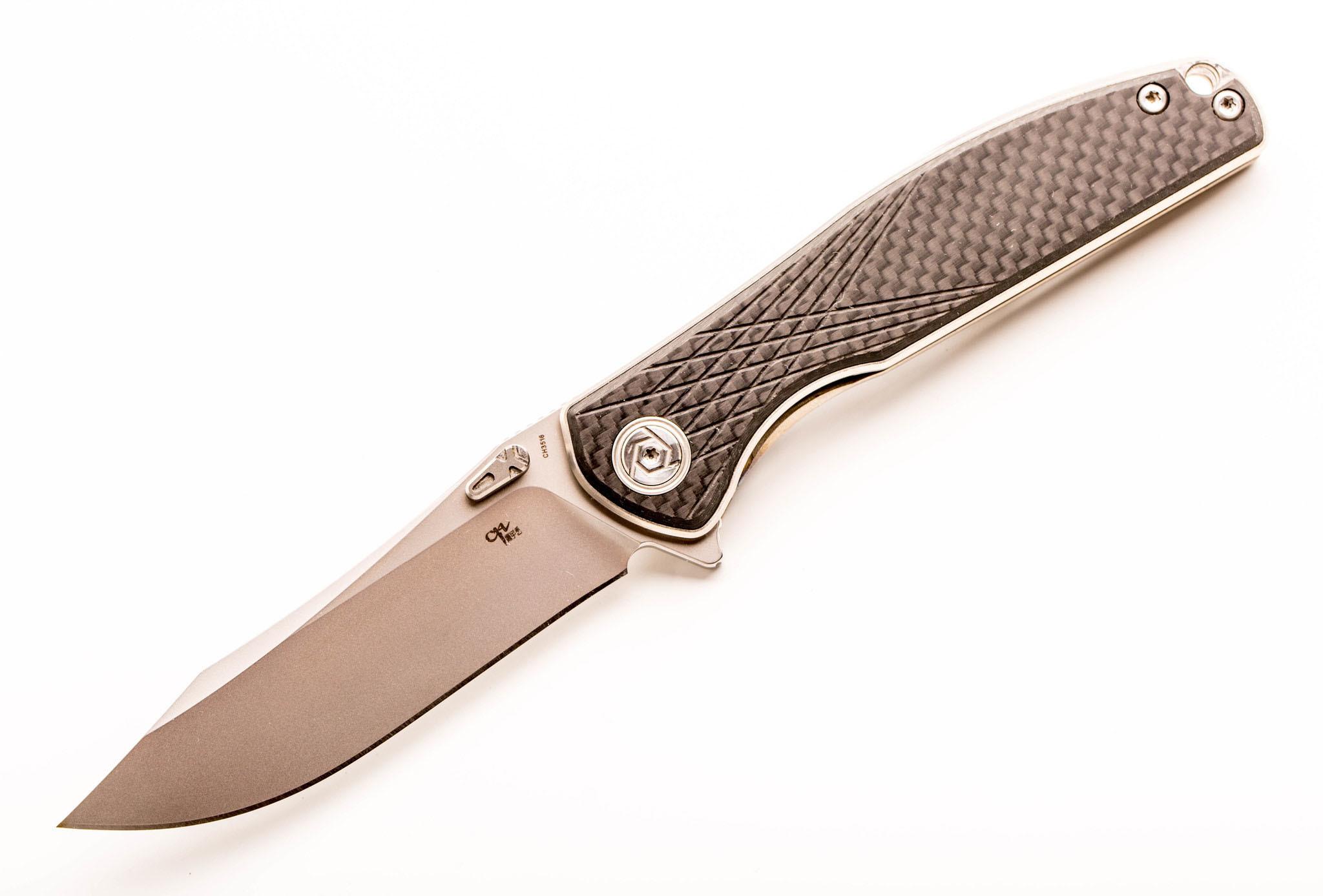 Складной нож CH3516, сталь S35VN (уценка)