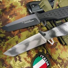 Нож Fox N.E.R.O Urban Winter, сталь N690, рукоять стеклотекстолит G-10, фото 4