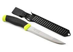 Нож с фиксированным лезвием Morakniv Fishing Comfort Scaler 150, сталь Sandvik 12C27, рукоять резина/пластик, фото 7