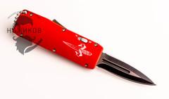 Фронтальный Нож Microtech mini красный