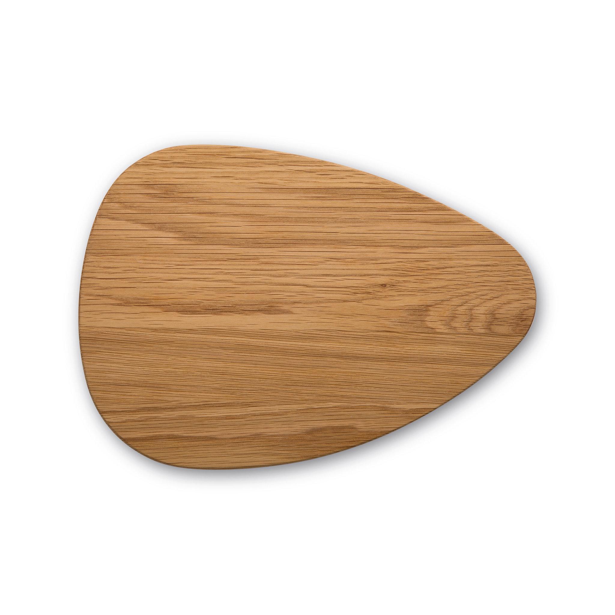 Доска разделочная в форме гальки Robert Welch, размер 32х24 см, материал дуб