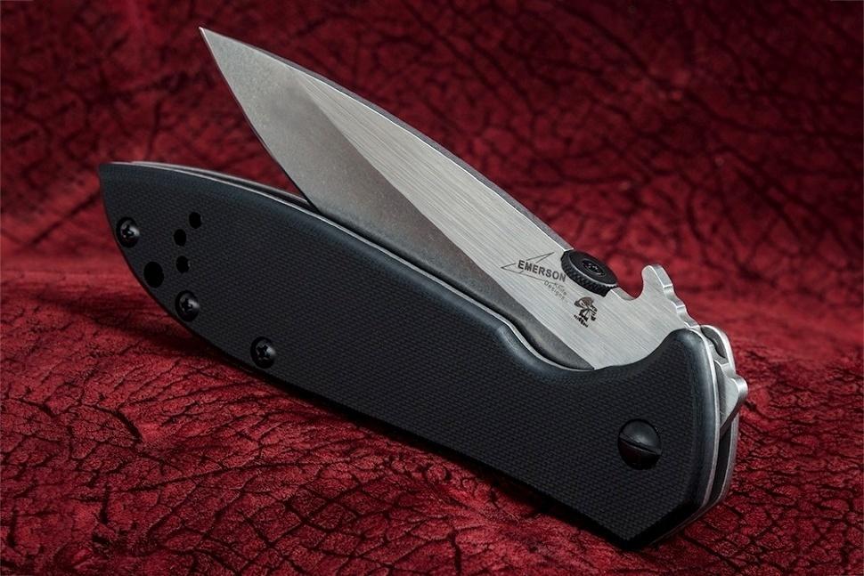 Фото 5 - Складной нож Kershaw Emerson CQC-4KXL K6055, сталь 8Cr14MoV, рукоять сталь/G-10
