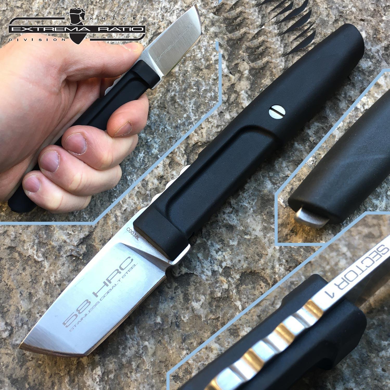 Фото 3 - Полевой нож для стейка Sector 1 Extrema Ratio, сталь Bhler N690, рукоять Forprene®