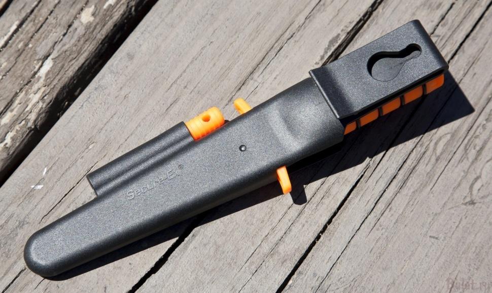 Фото 9 - Нож для выживания Cold Steel Survival Edge (Orange) 80PH, сталь 4116, рукоять полипропилен