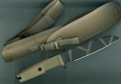 Нож с фиксированным клинком Extrema Ratio Task Desert Warfare, сталь Böhler N690, рукоять прорезиненный форпрен, фото 6