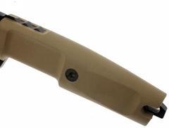Нож с фиксированным клинком Extrema Ratio Task Desert Warfare, сталь Böhler N690, рукоять прорезиненный форпрен, фото 5