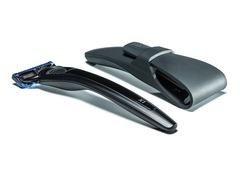 Подарочный набор Bolin Webb X1, бритва X1 черная, дорожный чехол