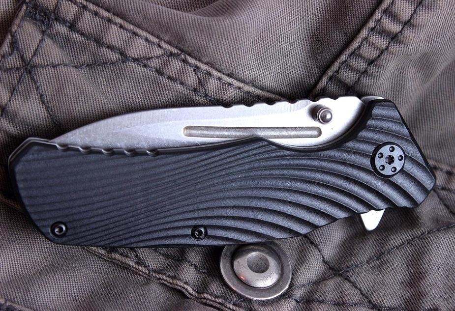 Фото 7 - Складной полуавтоматический нож Kershaw Huddle K1326, сталь 8Cr13MoV, рукоять пластик