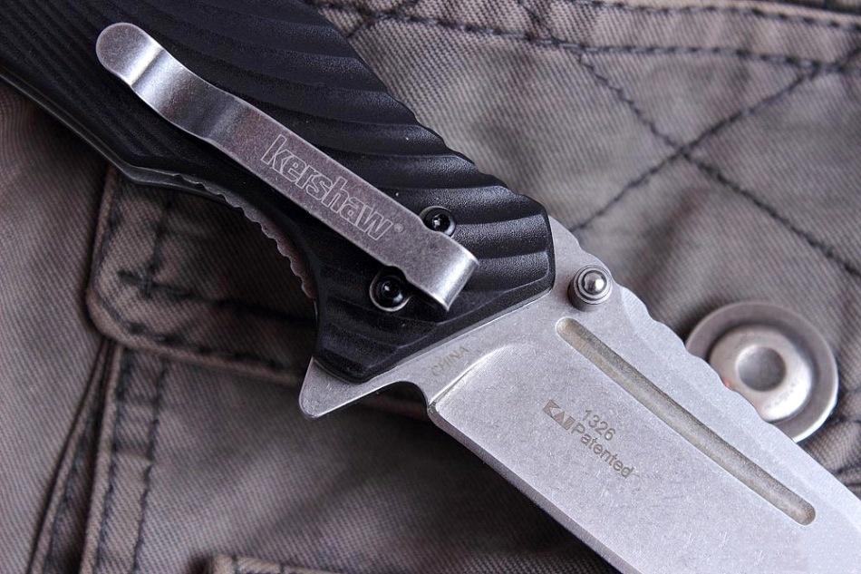 Фото 8 - Складной полуавтоматический нож Kershaw Huddle K1326, сталь 8Cr13MoV, рукоять пластик