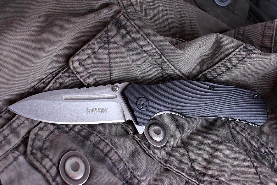 Фото 10 - Складной полуавтоматический нож Kershaw Huddle K1326, сталь 8Cr13MoV, рукоять пластик