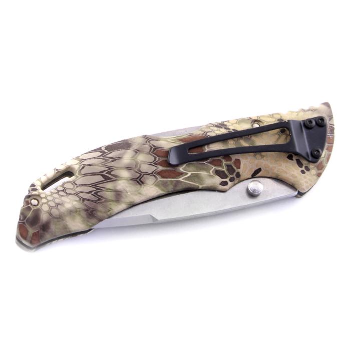 Фото 7 - Складной нож Buck Bantam BHW Kryptek Highlander Camo 0286CMS26, сталь 420НС, рукоять пластик