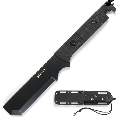 Фото 7 - Спасательный нож CRKT 2050K - M.A.K.-1 (Multiple Access Knife) Tactical, сталь 2Cr13 EDP Finish, рукоять G10
