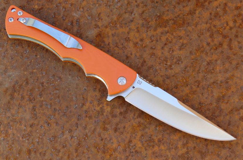 Фото 4 - Складной нож Рыжая Лиса, сталь D2 от Steelclaw