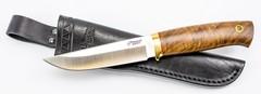 Нож универсальный Боровой М, N690, Южный Крест, орех