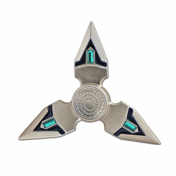 лучшая цена Спиннер (Hand Spinner) Destroyer серебристый