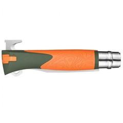 Складной нож Opinel №12 Explore, нержавеющая сталь Sandvick 12C27, рукоять термопластик, оранжевый, фото 2