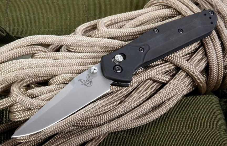 Фото 10 - Нож складной Benchmade 943 Osborne, сталь CPM-S30V, рукоять алюминий