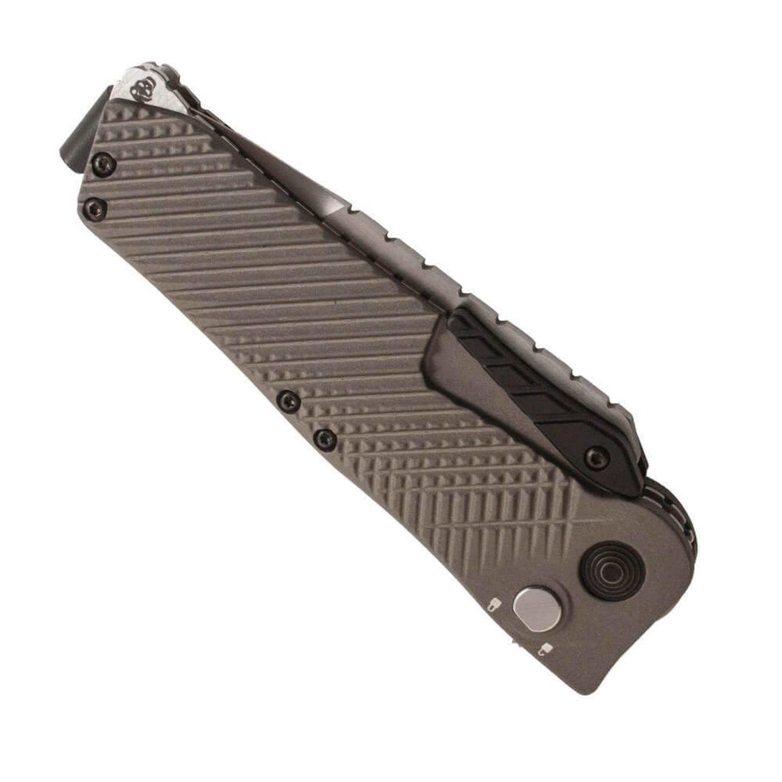 Фото 10 - Складной нож Quake - SOG IM1001, сталь VG-10, рукоять алюминий, зелёный