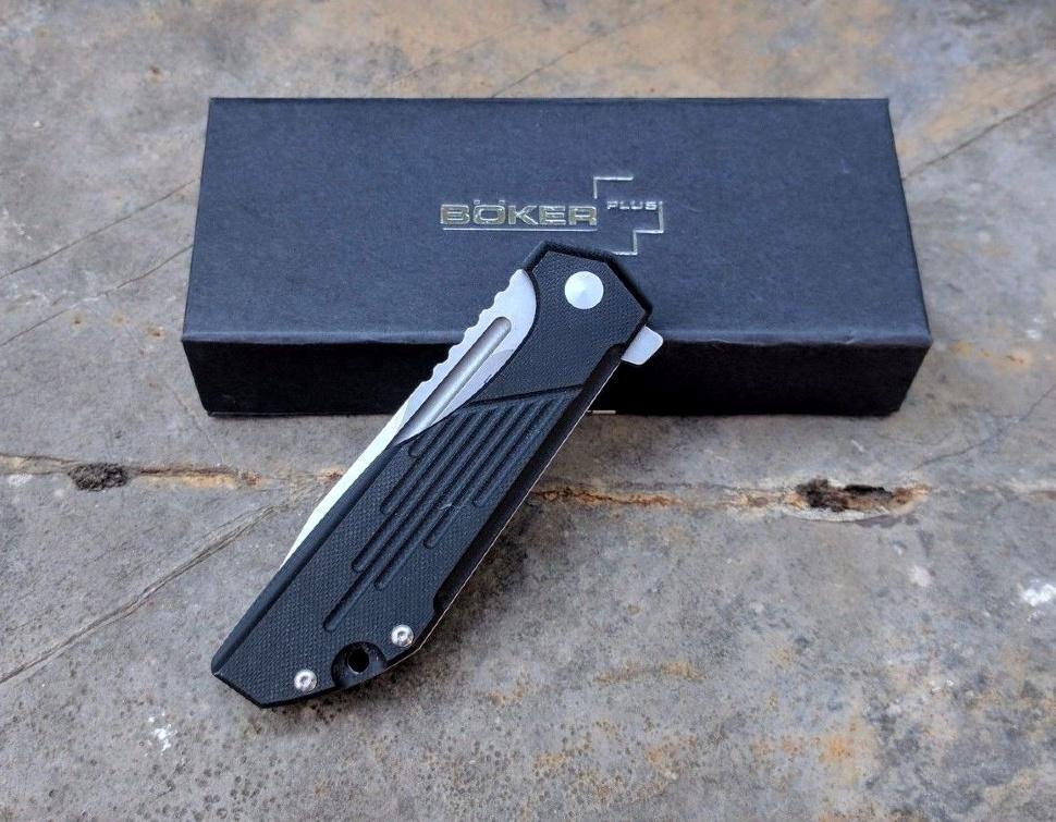 Фото 13 - Нож складной Jason B. Stout Design