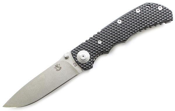 Складной армейский нож Рейнджер T5, сталь D2 от Steelclaw