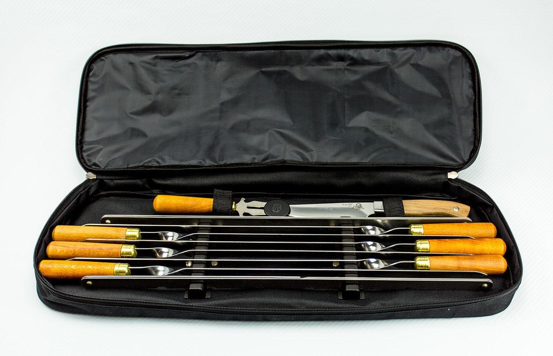 Шашлычный набор №3 нож м p 707 складной хозяйственно бытовой