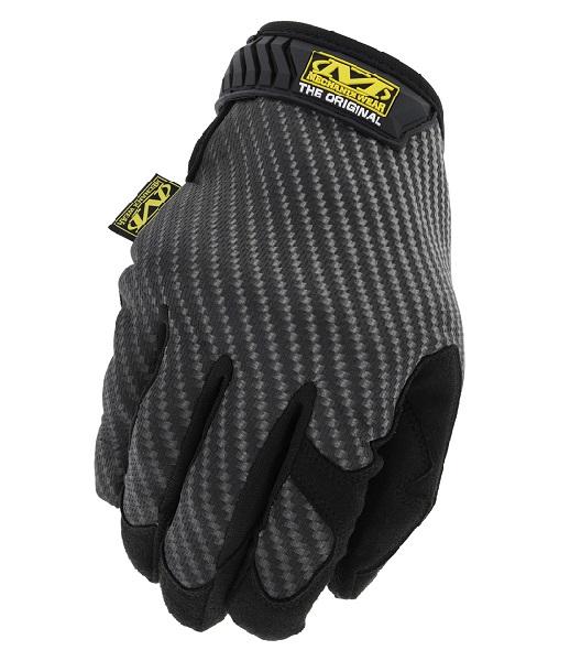 Перчатки MW Original Carbon Black Edition, серо-черные, XXL от Mechanix Wear