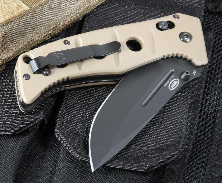 Фото 8 - Складной нож Benchmade 275BKSN Adamas, сталь D2, рукоять G10