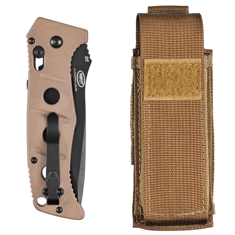 Фото 9 - Складной нож Benchmade 275BKSN Adamas, сталь D2, рукоять G10
