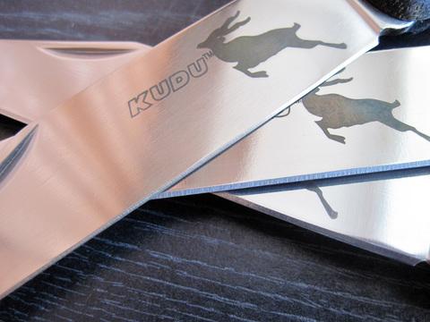 Складной нож Kudu - Cold Steel 20K, сталь German 4116 Stainless, рукоять Zy-Ex™. Вид 2