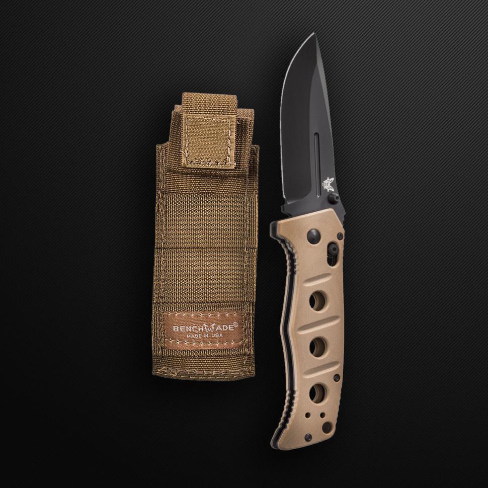 Фото 10 - Складной нож Benchmade 275BKSN Adamas, сталь D2, рукоять G10
