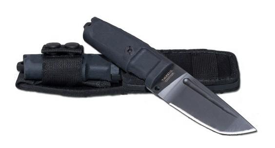 Нож с фиксированным клинком Extrema Ratio T4000 C Black, сталь Bhler N690, рукоять пластик