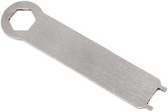 Нож складной LionSteel SR11A OB ORANGE, сталь Uddeholm Sleipner® Black Finish, рукоять алюминий (Solid®), оранжевый, фото 11