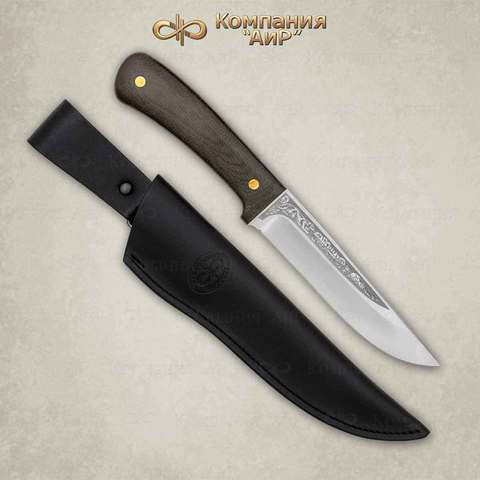 Нож Лиса ЦМ, текстолит, 95х18. Вид 3