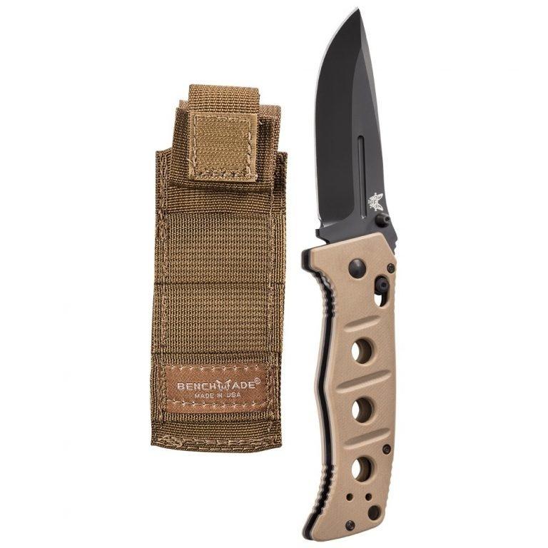 Фото 13 - Складной нож Benchmade 275BKSN Adamas, сталь D2, рукоять G10