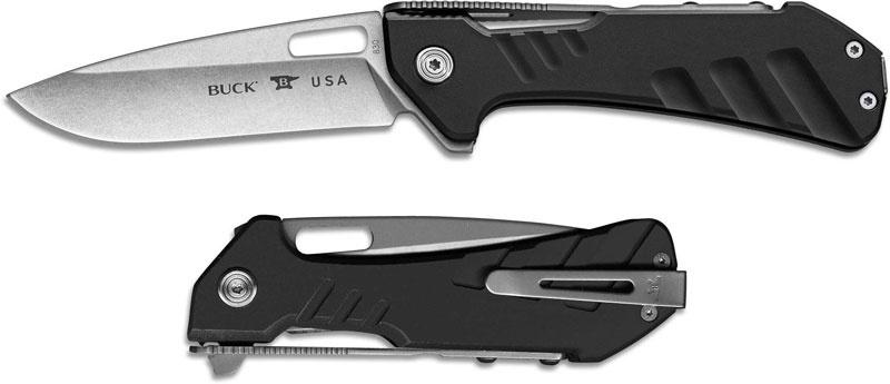 Фото 10 - Складной нож Buck Marksman 0830BKS, сталь 154CM, рукоять алюминий