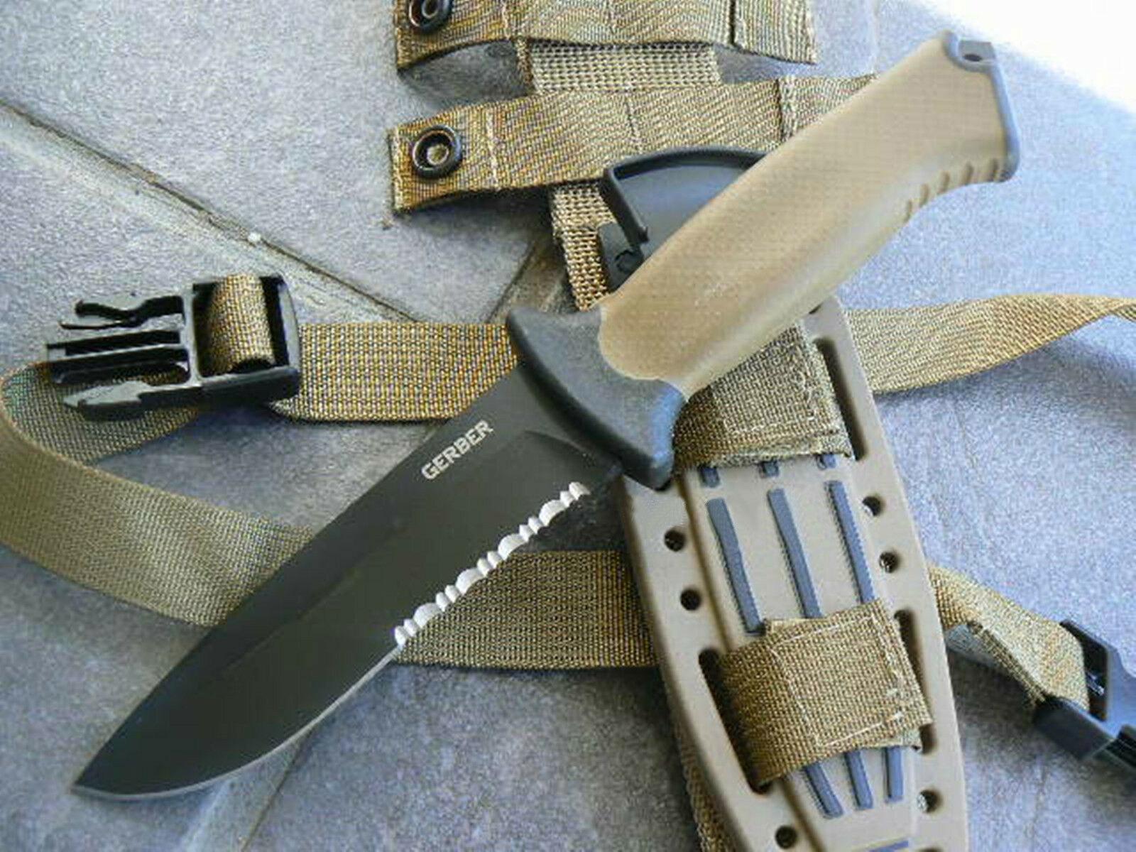 Фото 7 - Нож с фиксированным клинком Gerber Prodigy - R, сталь 420HC, рукоять стекловолокно