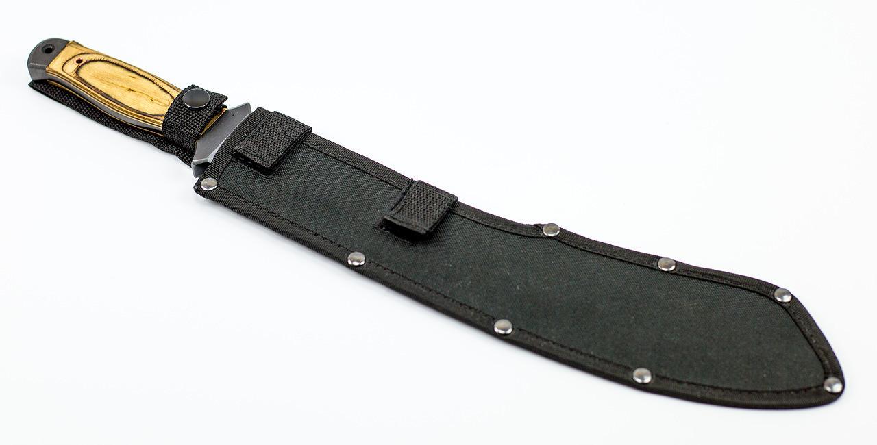 Фото 12 - Нож мачете Аллигатор, 65Г от Титов и Солдатова