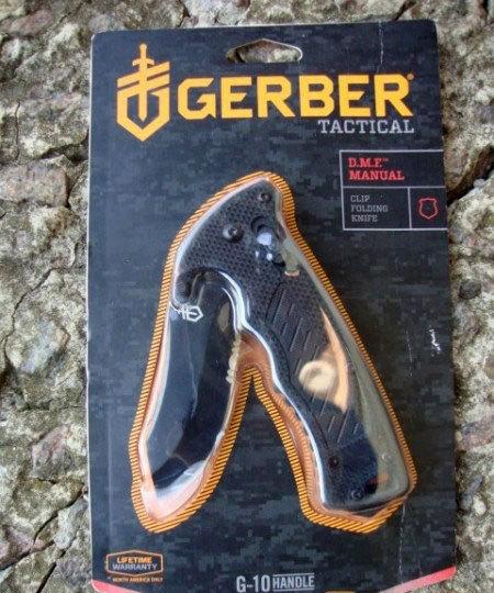 Фото 9 - Складной нож Gerber DMF Folder, сталь 7Cr17MoV, рукоять стеклотекстолит G10