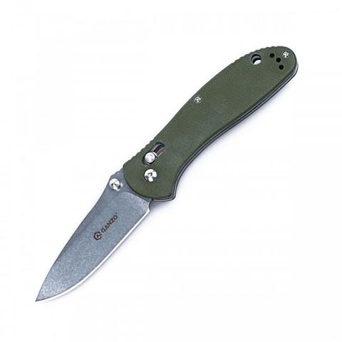 Нож Ganzo G7392, зеленый - Nozhikov.ru