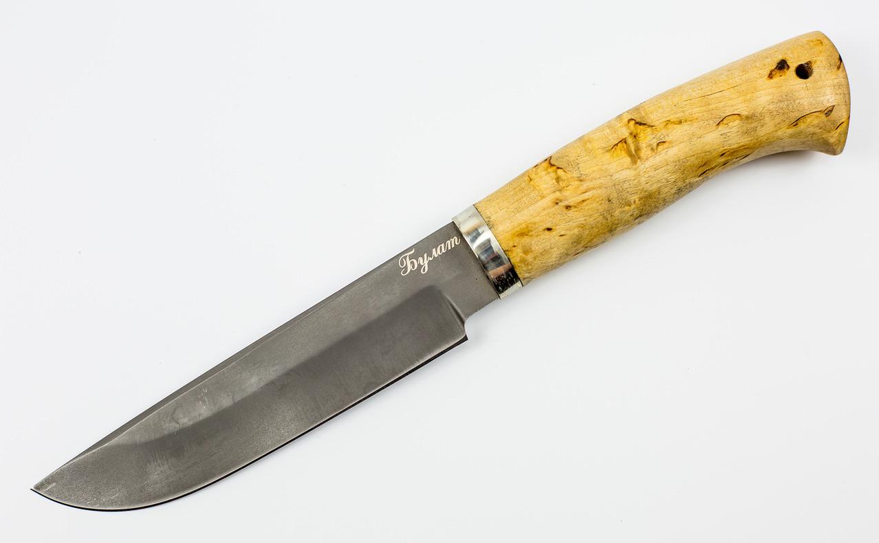 все цены на Нож Хищник булат, карелка онлайн