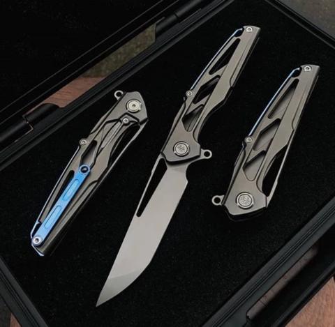 Нож складной Rikeknife Knight, N690