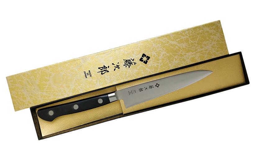 Фото 4 - Нож Универсальный Western Knife Tojiro, F-801, сталь VG-10, чёрный