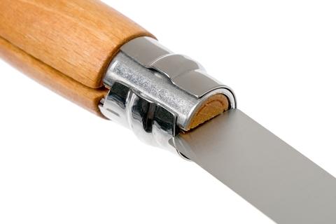 Нож складной Opinel №9 VRN Carbon Tradition, сталь AFNOR XC90 Carbon Steel, рукоять бук, 113090