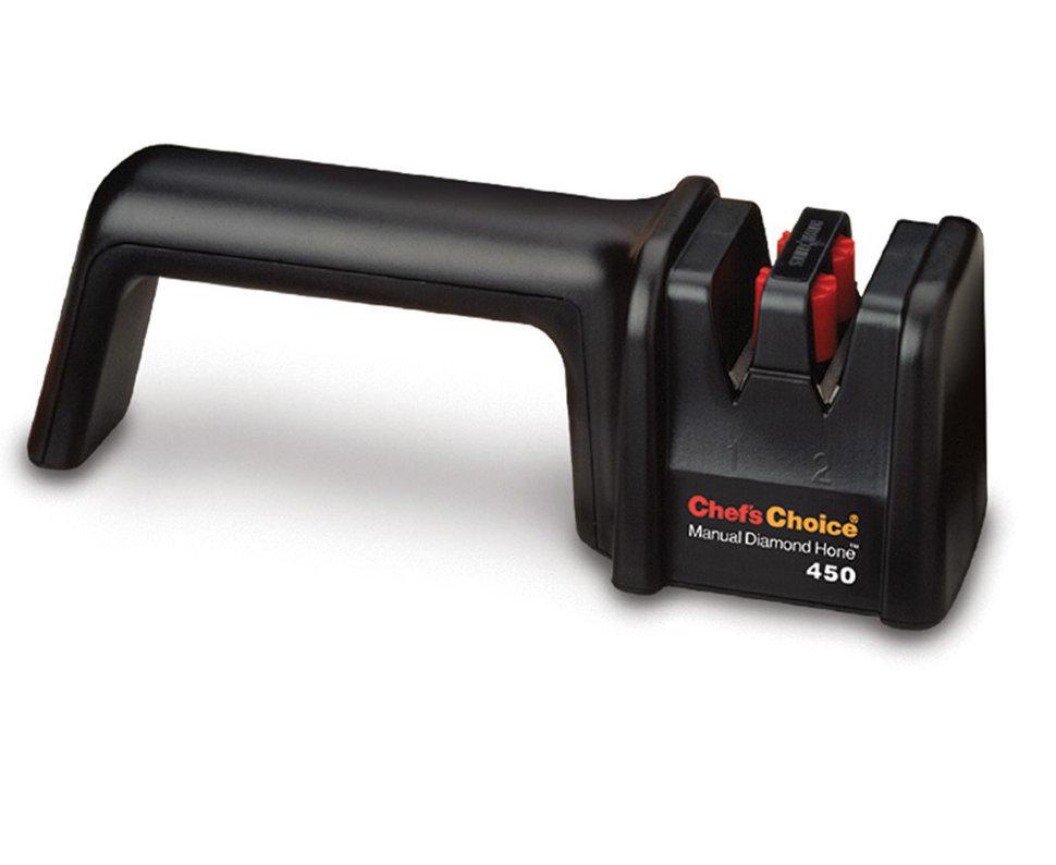 Механическая точилка для заточки ножей двухуровневая Chef'sChoice 450 механическая точилка для заточки ножей cc476