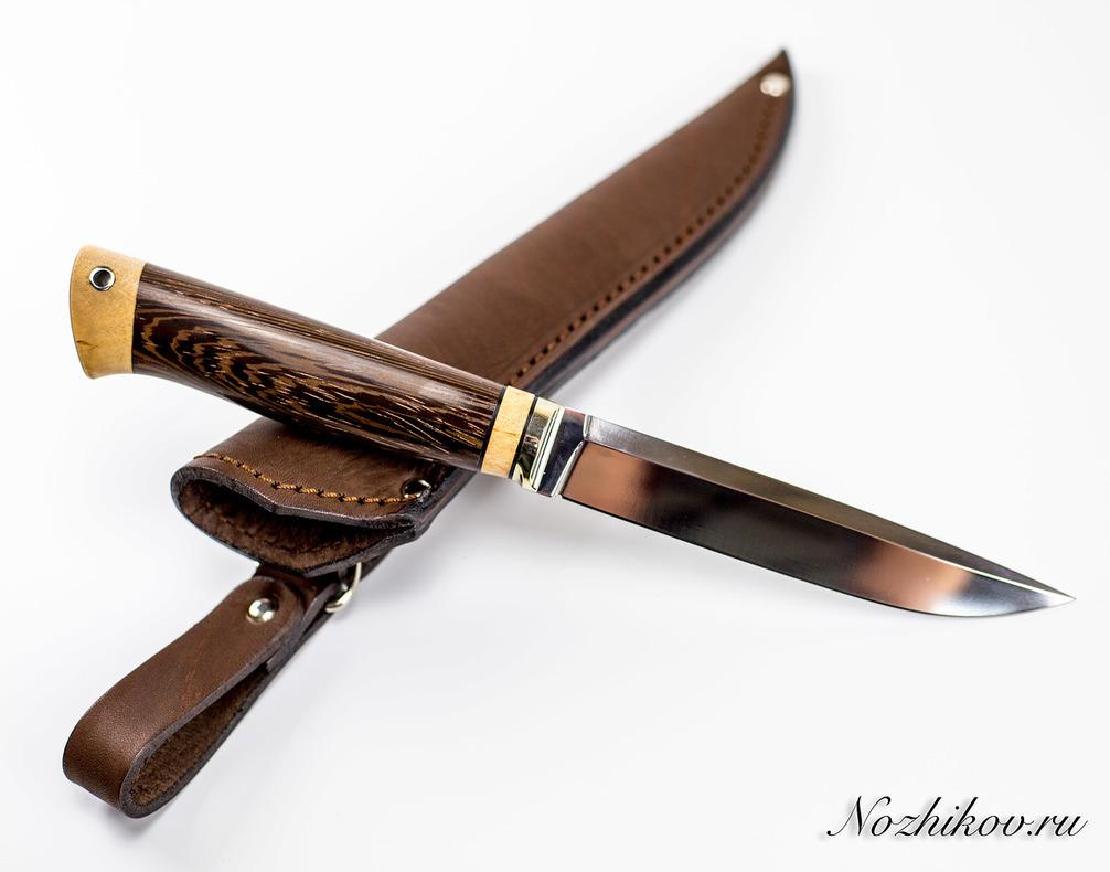 Нож Практичный №54 из кованой стали Х12МФ